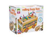 Alex Toys Jr. Rolling Busy Bus Baby Wooden Developmental Toy by Alex 9SIV19777X3404