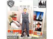 "Dallas 12 Inch Action Figures Series One: """"Who Shot Jr?"""" JR Ewing Figure"" 9SIV19777X3563"