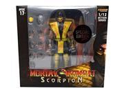 """Storm Collectibles Mortal Kombat Scorpion 1/12 Action Figure (Special Edition """"""""Bloody"""""""" Version)"""" 9SIV19777X3336"""