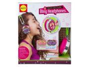 ALEX Toys Do-it-Yourself Wear Pink and Green Tech Couture Bling Headphones by ALEX Toys 9SIV19777X3287