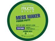 Garnier Fructis Style Mess Maker Power Putty 3.4 oz (Pack of 5)