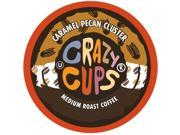 Crazy Cups Flavored Coffee, for the Keurig K Cups 2.0 Brewers, Caramel Pecan ...