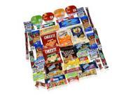 Blue Ribbon Care Package 45 Count Ultimate Sampler Mixed Bars, Cookies, Chips...