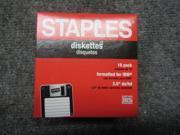Staples Diskettes 3.5