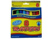 Broad Tip Watercolor Markers - 8 count(Pack of 48) 9SIV12R71V9124