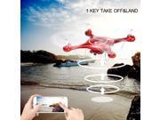 Syma X5UW 2.4G 4CH Wifi FPV RC Quadcopter Remote Control 720P HD Camera