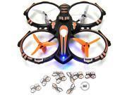 RC Stunt Drone Quadcopter w/ 360 Flip: Crash Proof, 2.4GHz, 4 CH, 3 Blade Pro...