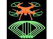 Top Deals 4pcs High Quality Luminous Propeller Protector For Syma X8C X8W RC Quadcopter