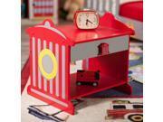 KidKraft Firetruck Hydrant Toddler Bedside Table - 76024