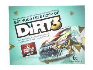XFX Gift - Dirt3 Game Coupon