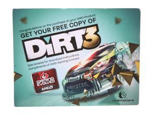 AMD Gift - Dirt3 Game Coupon - OEM