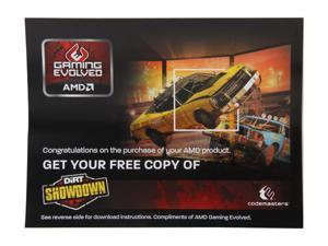 AMD Gift - Dirt SHOWDOWN Gift Coupon