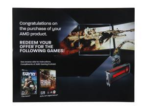 AMD Gift - FARCRY3 / MOH 2-in-1 Game Coupon