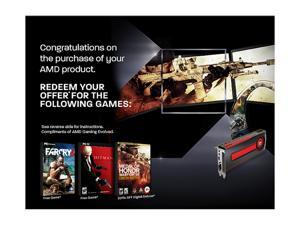 AMD Gift - Far Cry 3 + Hitman Absolution Coupon