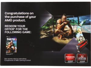 AMD Gift FARCRY3 Blood Dragon & FARCRY 3