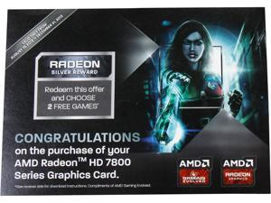 AMD GIFT - RADEON SILVER REWARD for TWO FREE Games