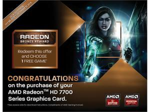 AMD GIFT - RADEON BRONZE REWARD for ONE FREE Game