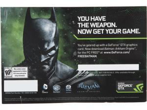 NVIDIA GIFT Batman Arkham Origins