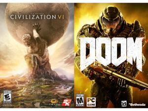 AMD Civilization VI + DOOM