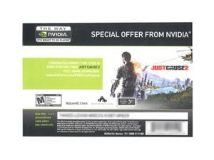 NVIDIA Free Just Cause 2 + Mafia II Coupon