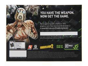NVIDIA Gift - Borderlands2 Free Game Coupon