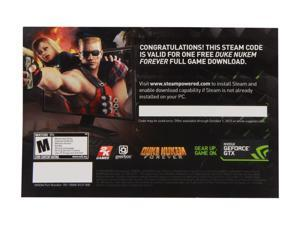NVIDIA Gift - DUKE NUKEM FOREVER Game Coupon - OEM