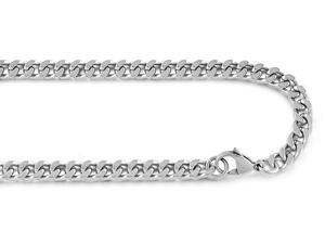 Steel Curve Chain Necklace