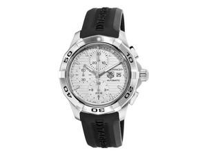 Tag Heuer Aquaracer Silver Dial Chronograph Mens Watch CAP2111FT6028