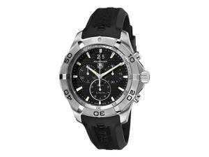 Tag Heuer Aquaracer Grand-Date Chronograph Mens Quartz Watch CAF101E.FT8011
