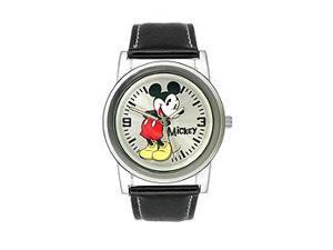 Disney Mickey Mouse Silver Dial Men's watch #MCK611