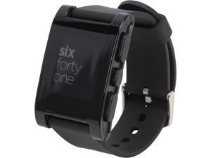Pebble Smart Watch for iPhone and Android Devices (Black)