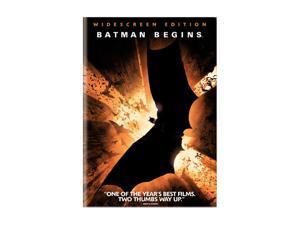Batman Begins (DVD / WS Edition / Dolby Digital 5.1 / ENG-SP-FR-SUB) Christian Bale, Michael Caine, Ken Watanabe, Liam Neeson, ...