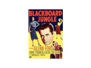 Blackboard Jungle Glenn Ford, Vic Morrow, Anne Francis, Louis Calhern, Margaret Hayes, John Hoyt, Richard Kiley, Emile Meyer, Warner Anderson, Basil Ruysdael