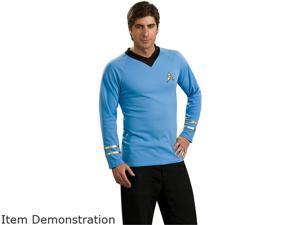 Adult Blue Classic Star Trek Costume Rubies 888983