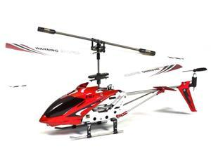 Syma S107 Mini RC Helicopter Metal Series with Gyro (Red)