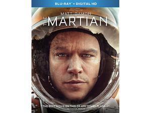 The Martian [Blu-ray + Digital HD] Jeff Daniels, Matt Damon, Michael Pena