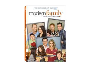 Modern Family: The Complete First Season (2009 / DVD / WS) Julie Bowen, Sofia Vergara, Ed O'Neill, Ty Burrell, Jesse Tyler ...