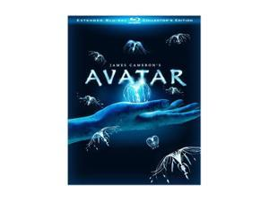 Avatar (Three-Disc Extended Collector's Edition + BD-Live) (Blu-ray / 2009) Sam Worthington, Zoe Saldana, Sigourney Weaver, ...