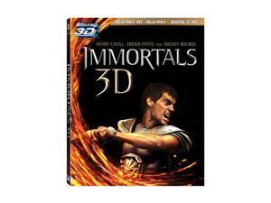Immortals (3D Blu-ray + Digital Copy + Blu-ray) Henry Cavill, Kellan Lutz, Mickey Rourke, Freida Pinto, Luke Evans