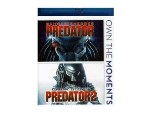 Predator 1 & 2 Double Feature [Blu-ray]