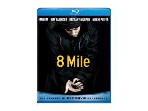 8 Mile (Blu-Ray / ENG SDH / SPAN / FREN / DTS SUR 5.1) Eminem&#59; Kim Basinger&#59; Brittany Murphy&#59; Mekhi Phifer&#59; Omar Benson Miller&#59; Eugene Byrd&#59; Taryn Manning&#59; Xzibit&#59; Evan Jones&#59; De'Angelo Wilson