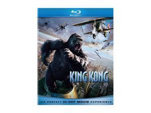 King Kong(Blu-Ray / ENG SDH / SPAN / FREN / DTS-HD 5.1 / Original Theat / Extended) Naomi Watts&#59; Jack Black&#59; Adrien Brody&#59; Colin Hanks&#59; Kyle Chandler&#59; Andy Serkis&#59; Jamie Bell&#59; Lobo Chan&#59; Thomas Kretsc