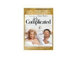 It's Complicated (DVD / WS / ENG SDH / FREN / SPAN / Dolby / NTSC) Meryl Streep&#59;Steve Martin&#59; Alec Baldwin&#59; Lake Bell&#59; John Krasinski&#59; Mary Kay Place&#59; Rita Wilson&#59; Alexandra Wentworth&#59; Hunter Parrish&#59;