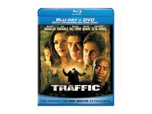 Traffic (Blu-Ray / DVD COMBO / ENG SDH / SPAN/FREN) Michael Douglas&#59; Catherine Zeta-Jones&#59; James Brolin&#59; Don Cheadle&#59; Benicio Del Toro&#59; Albert Finney&#59; Salma Hayek&#59; Dennis Quaid&#59; Erika Christensen&#59; Top