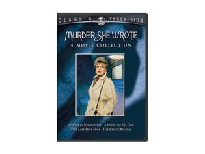 Murder, She Wrote: 4 Movie Collection (Set DVD) Angela Lansbury