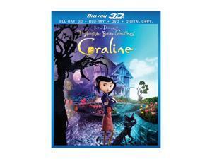 Coraline (3-D Blu-ray) Dakota Fanning (voice), Teri Hatcher (voice), John Hodgman (voice), Ian McShane (voice), Jennifer ...