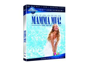 Mamma Mia! The Movie (DVD + Digital Copy + Blu-ray)