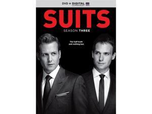 Suits: Season Three (UV Digital Copy + DVD) Gabriel Macht, Patrick J. Adams, Rick Hoffman, Sarah Rafferty, Gina Torres