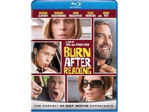 Burn After Reading(Blu-Ray / ENG SDH / FREN / SPAN / DTS-HD) John Malkovich&#59; George Clooney&#59; Frances McDormand&#59; Brad Pitt&#59; Tilda Swinton&#59; Richard Jenkins&#59; J.K. Simmons&#59; David Rasche&#59; Kevin Sussman&#59; J.