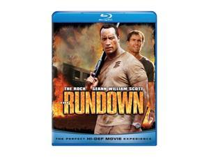 Rundown (Blu-Ray / ENG SDH / FREN / SPAN / DTS-HD) The Rock&#59; Seann William Scott&#59; Rosario Dawson&#59; Christopher Walken&#59; Nina Kaczorowski&#59; Ernie Reyes Jr.&#59; Ewen Bremner&#59; Micki Duran&#59; Jon Gries&#59; Corey Lar